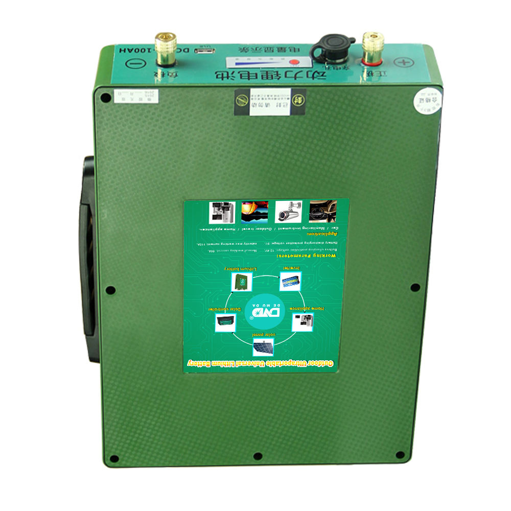 Rechargeable 12v 100ah 200ah truck and car batteries lithium ion battery for solar system RV EV car