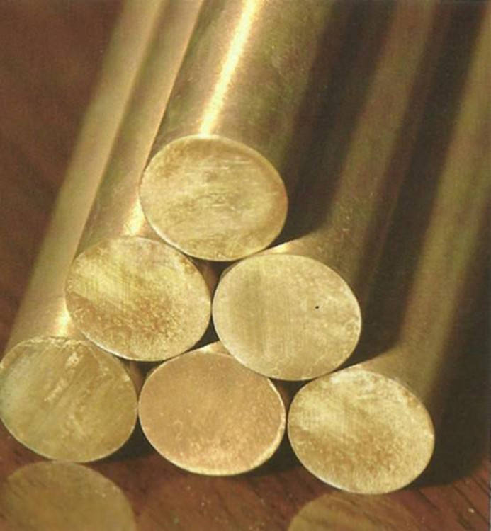 C27200 80mm Brushed Finish Brass Rod