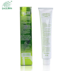 Hair beauty products OEM natural plant extract professional hair dye cream for salon use