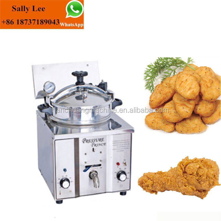 Hot Sale electric Chicken Pressure Commercial Deep Fryer/ pressure chicken fryer for sale