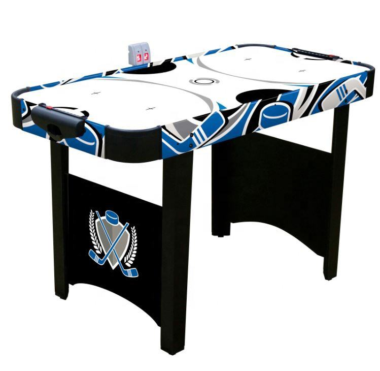 48in Air Powered Hockey Table with Electronic Scorer/Children Wooden Toy