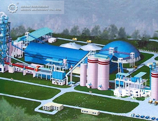 100 to 1000 tpd Cement Production Line Plant Equipment Turkey