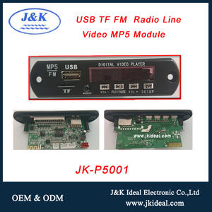 JK-P5001 usb fm máy nghe nhạc mp4 mp5 car dvd player audio video out