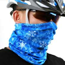 bike snood sport tube neck scarf hair seamless magic bandana head scarf