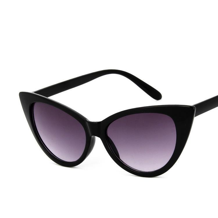 CRAMILO de mujer T/clase camisa/Camiseta tipo mujeres de suave camiseta ser amable sexy de ojo de gato gafas de sol de mujer
