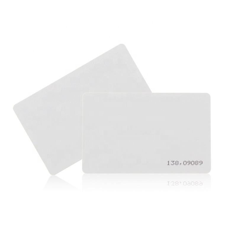 Imprimible, antena de 125 Khz Temic T5577 Color blanco tarjeta RFID