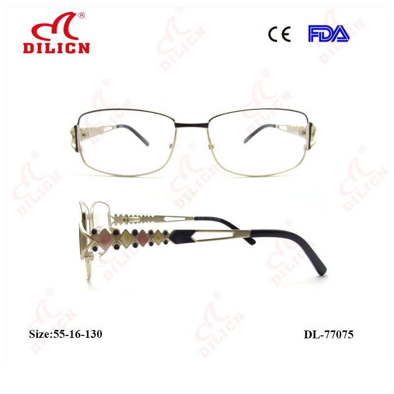 2018 new design monel half frame optical eyewear frame