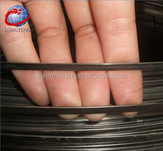 Hot sale galvanized steel flat wire / spring steel flat wire / flat steel wire for tents