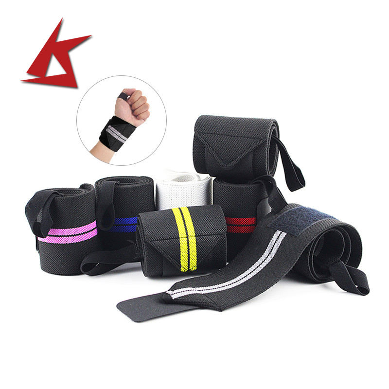 KS-624#latest Fashion custom wrist wraps weight lifting wrist straps
