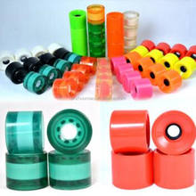 Custom Skateboard caster Wheels skate board pu caster Scooter wheel roller skate caster Pu pulley