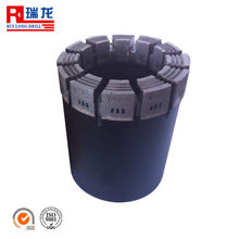 AQ,BQ,NQ,HQ,PQ impregnated diamond core drill bit,for geological mining