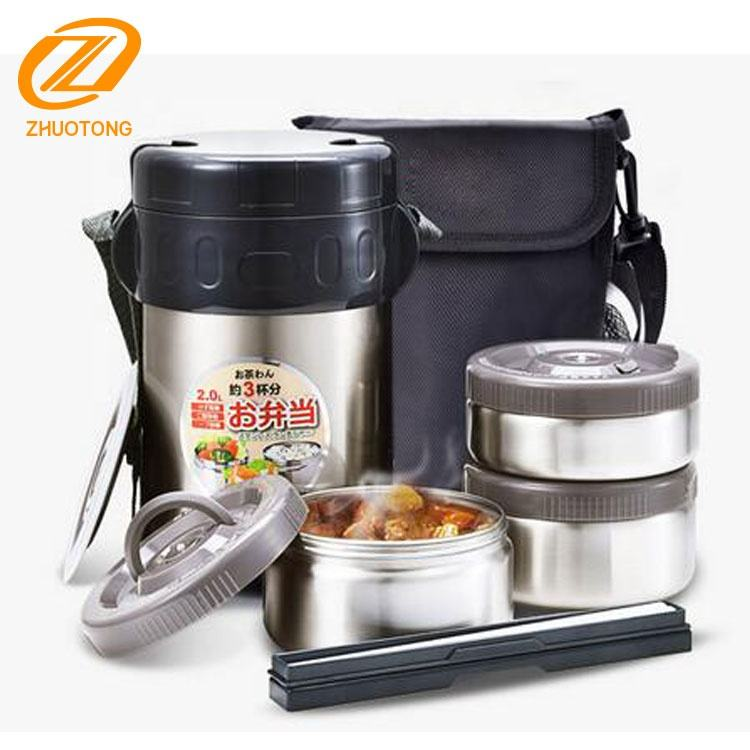 Stainless Steel Insulated Lunch Box/ vacuum food container
