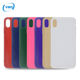 PC+tpu groove material shell personalized mobile phone case logo custom