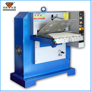 high quality industrial tannery hydraulic leather embossed machine