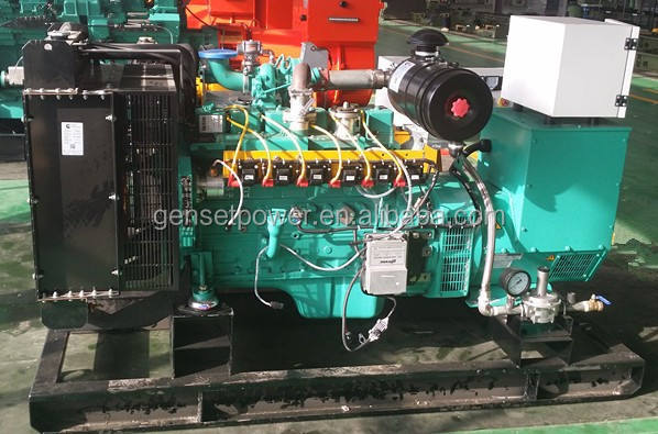 50kw Continuous power natural gas generator generac