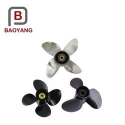 High speed 4 blade propeller stainless steel boat propeller