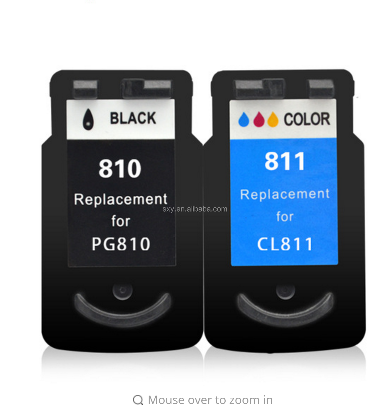 New products For canon cartridge 810 811 compatible black color printer refill ink cartridge PG810XL CL811XL PG-810XL CL-811XL