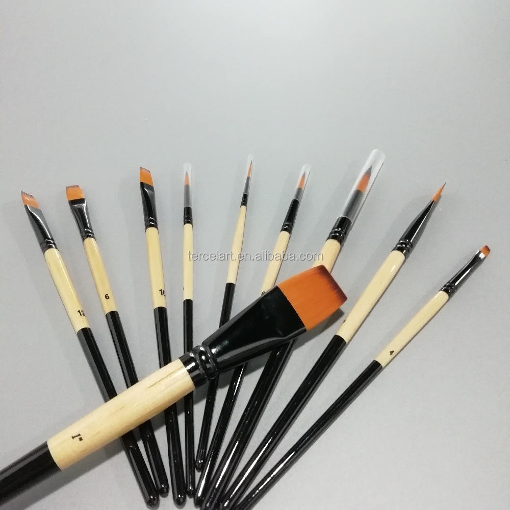for Acrylic, Watercolor,Oil, Artist Painting Brush Set
