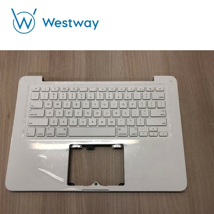 "Белый чехол для Macbook Unibody 13 ""A1342 MC207 MC516, верхний корпус с английской клавиатурой 2009 2010"