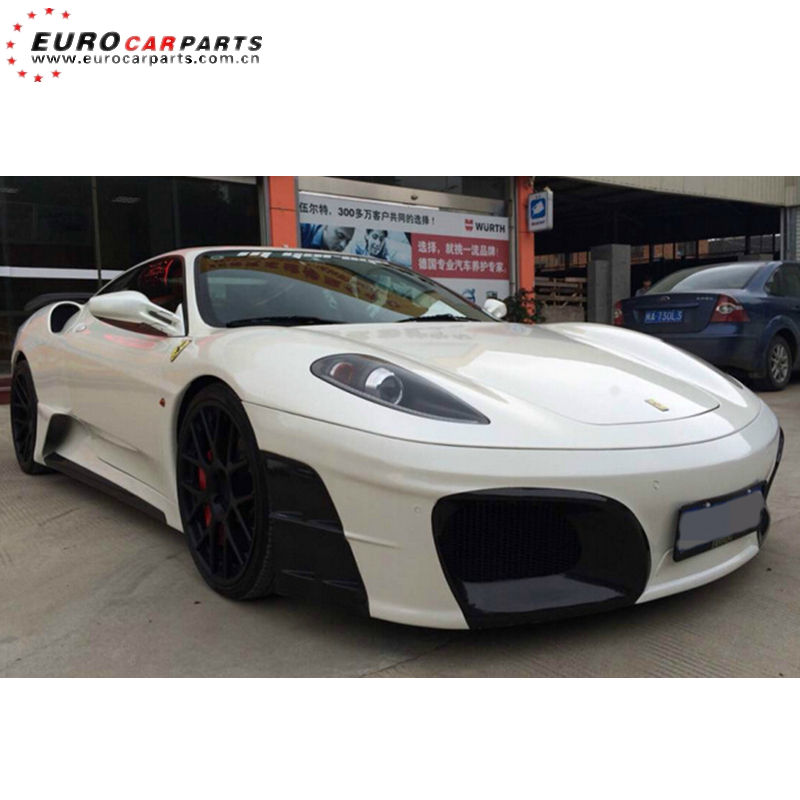 F430 body kits fit for Feri F430 ABI style body kits with carbon fiber parts