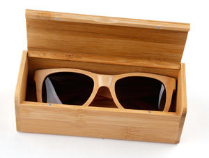 bamboo case and box eyewear case
