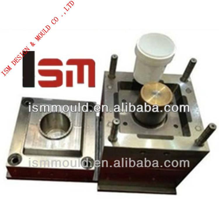 ISM-4 литра пластиковые ведра краски с крышкой плесень