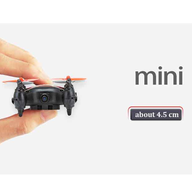 Mini Drone Quadcopter Pocket Drone with Camera Flip Headless Mode Mini Cheap Drone with High Speed
