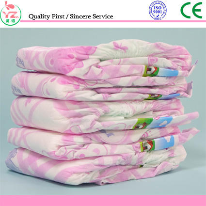 Quanzhou factory top sale baby printed diapers with cheap price
