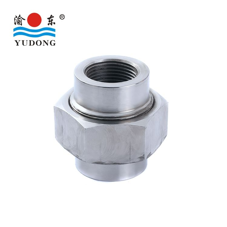 BW MSS-SP-97 B16.11 ASTM Stainless steel pipa fitting/SW/NPT serikat