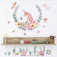 Removable Pvc Eco-friendly RoomDecor for Kids Letter for Home Decor DIY Wall Stickers
