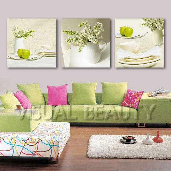 New Arrival Fashion 3 Panels Combination Art Wall Painting on UV Prints