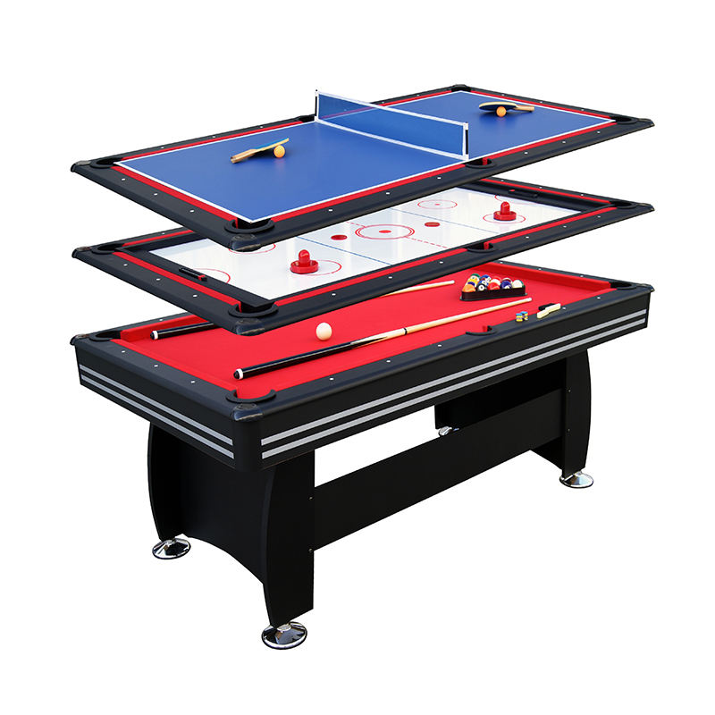 Folding Multi Function Combo Game Table with all accessories