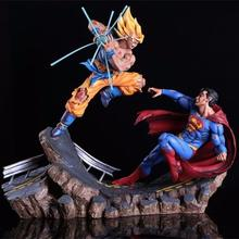 factory sale mini 3D PVC custom dragon ball and superman action figure toys for kid