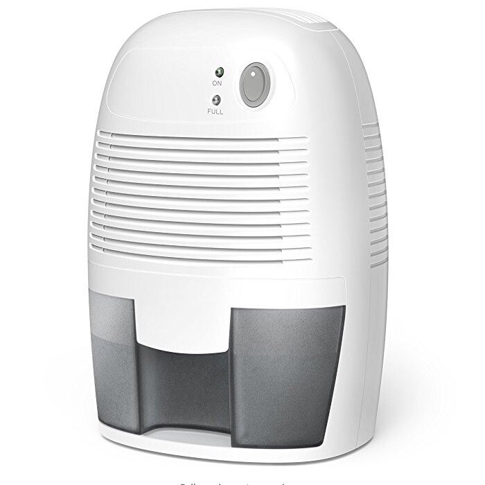 dehumidifier home or Closet - Capacity Quiet Safe Compact Thermoelectric Energy Efficient Dehumidifier