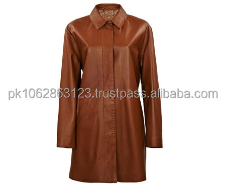 Hot sale 2013 shiny brand winter ladies long leather coats