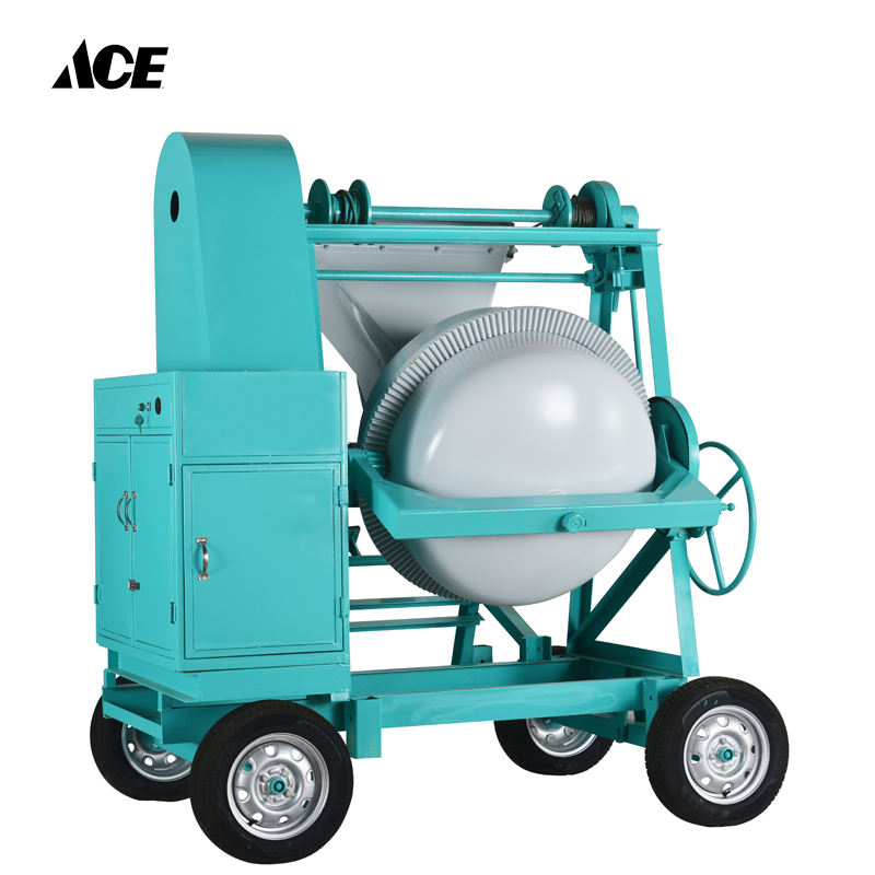 TDCM500-DW Tilting drum concrete mixer machine construction equipment