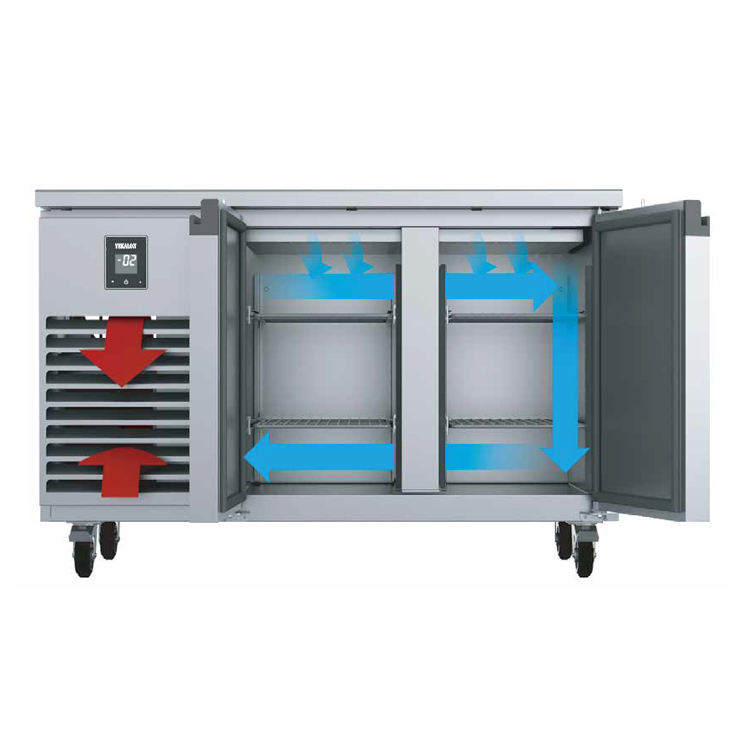 CE Heavy Duty Upright Industrial Refrigerator and Freezer