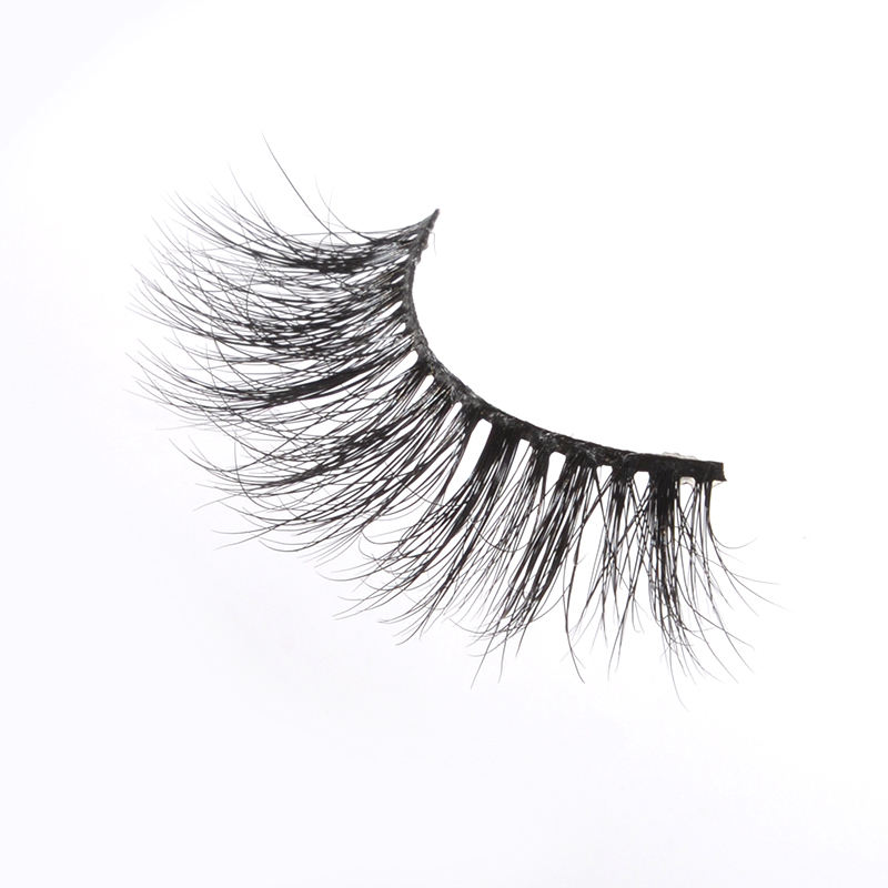 New Product Private Label 100% Real Siberian Fur Mink High Quality Eyelashes