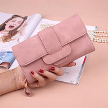Ladies fashion design purse Long Section PU leather Women Wallet with Hasp,Women's Vintage clutch purse