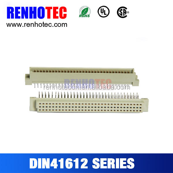 90/180 Degree 96 Pin in 2 Rows DIN41612 series Eurocard Connectors