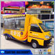 New hot sell snack sale food cart/mobile used food trucks for sale
