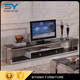 Stainless steel furniture corner tv stand cabinet for home DS003