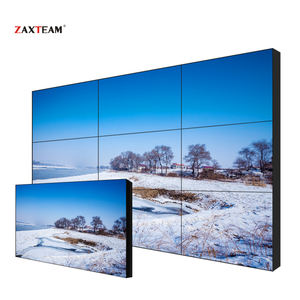 Hot Sale 49 Inch Bezel 3.5 Mm-untuk-Bezel Video Wall LCD dengan Asli LG Panel 3X3 4X4 Nxm Kombinasi Video Wall