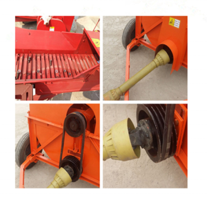 Diesel Engine Hay Cutter Straw Crusher Chaff Cutter Machine