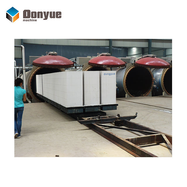 YTONG aac block mini aac plant manufacturer dongyue machine group