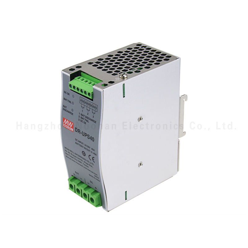 Meanwell DR-UPS40 40A DC DIN Rail Up Modul