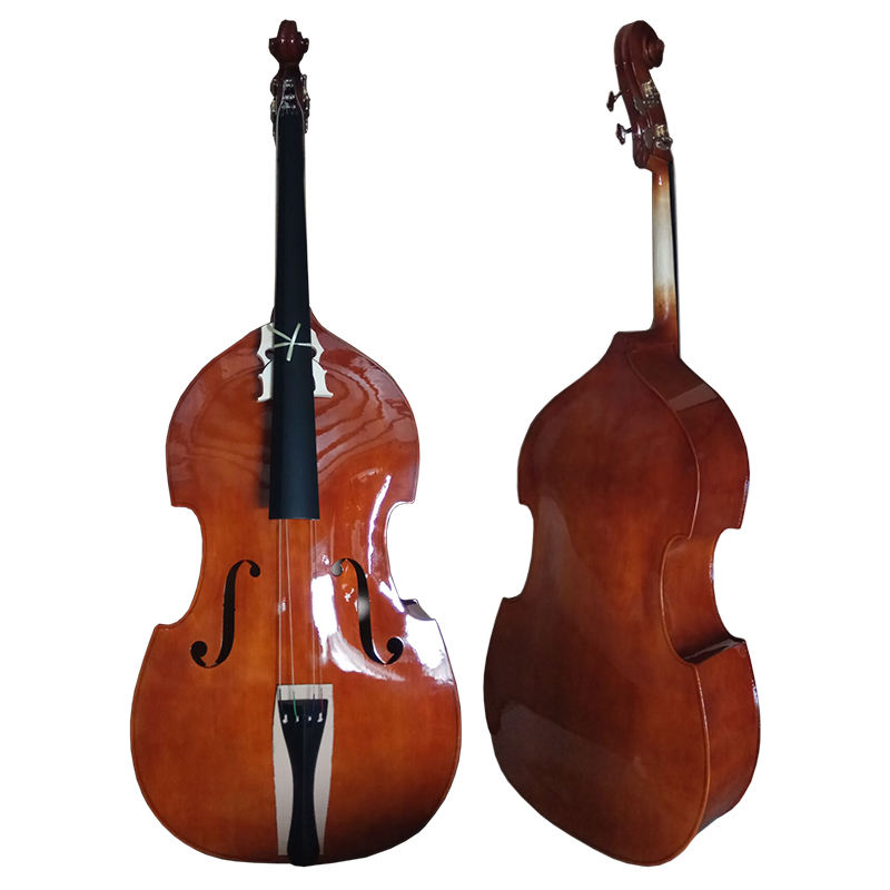 Chinese plywood upright 4/4 double bass/contrabass with cheap price