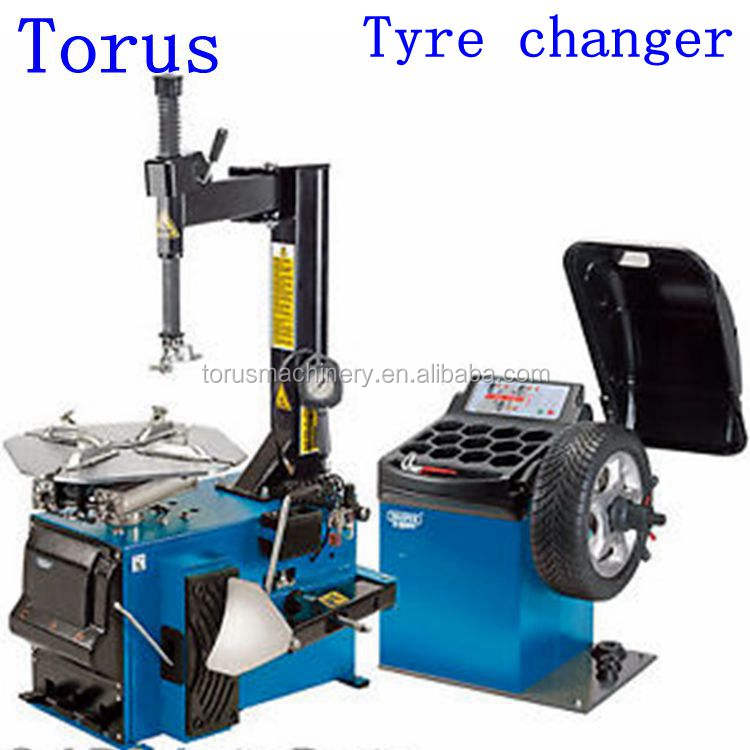 weight 280KG pneumatic tire changer with outside clamp 10inch to 20inch