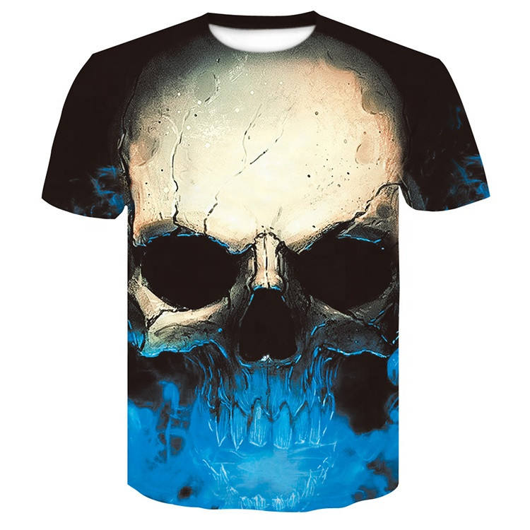 Hip Hop unisex all over sublimation printing fishing t shirt for sublimation