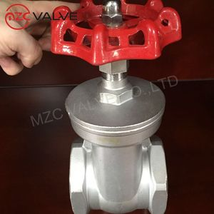 Factory Price Threaded End 2 Inch Gate Valve